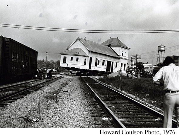 Cowan Railroad Musuem Depot Move
